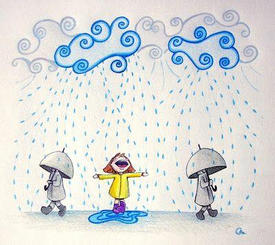 En abril aguas mil. / Hace referencia a la abundante lluvia en ese ...