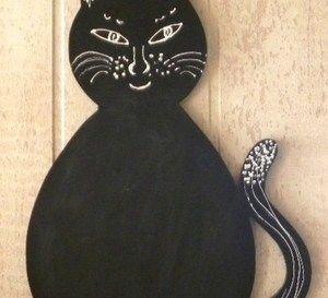 Le tableau chat pour laisser messages