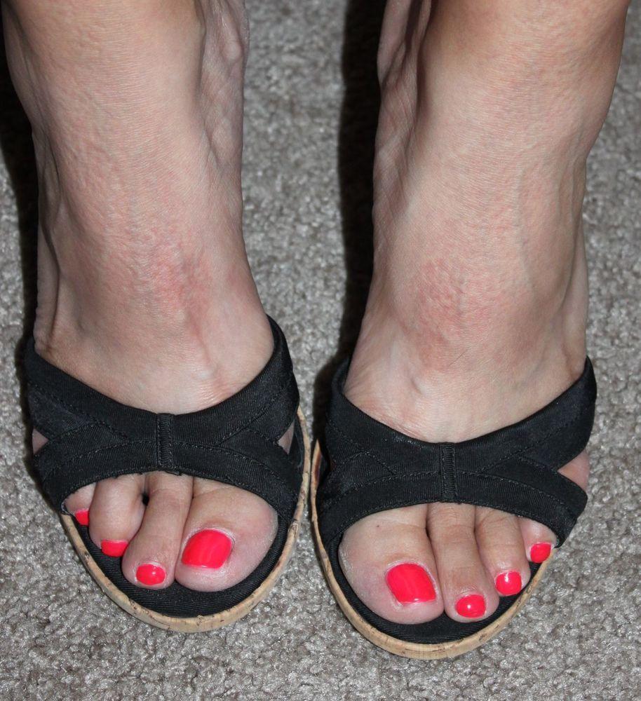 Women's Well Worn Heels Ladies Black 3