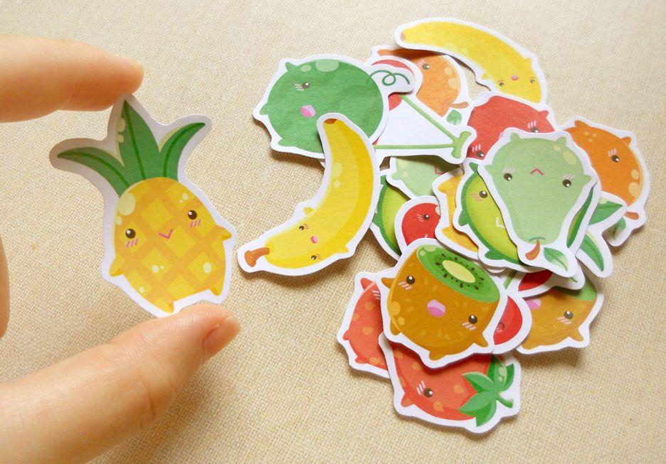 Fruity stickers!