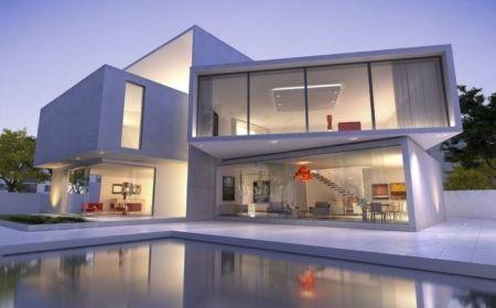 êtes intéressés par une maison toit plat ? 84 exemples pour votre