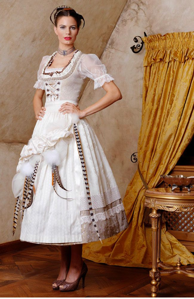 dirndl wedding dress