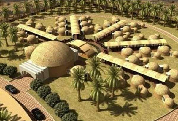 اولین هتل کپری جهان در جنوب کرمان
