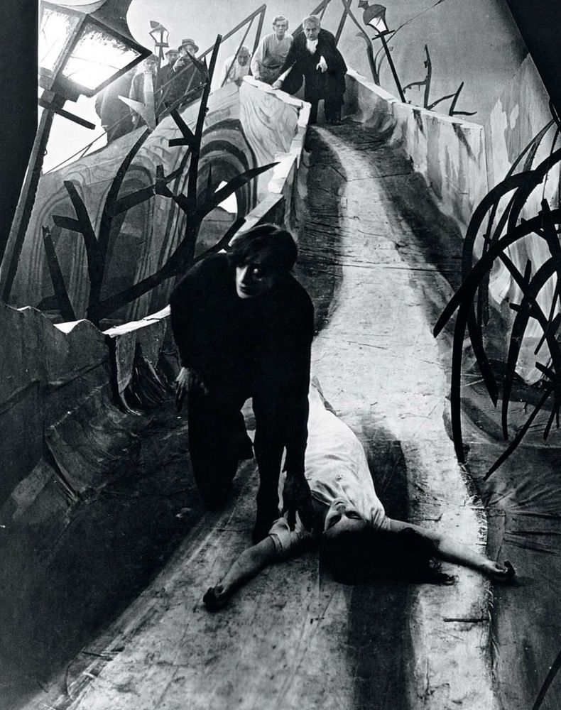 the cabinet of dr caligari's sequence Bert cardullo i want to consider all of the film of the cabinet of dr caligari   previous expressionistic sequences: even though we are back in conventional.
