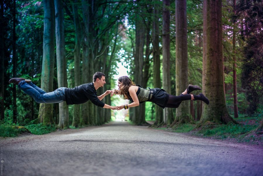 Photograph levitating couple by letizia camboni on 500px