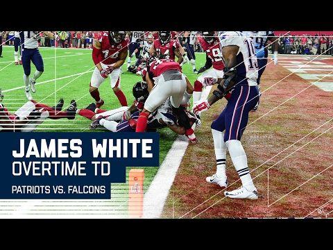 James White Game Winning Ot Touchdown Patriots Vs Falcons Super Bowl Li Highlights Youtube Patriots Super Bowl Li James White