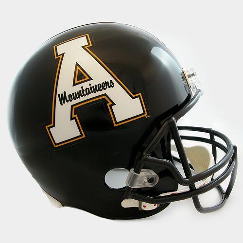 App State Football Helmets Football Helmet