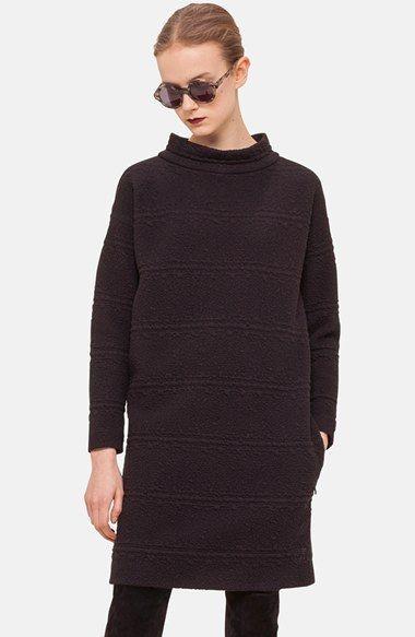 Akris punto Long Sleeve Jacquard Dress available at #Nordstrom