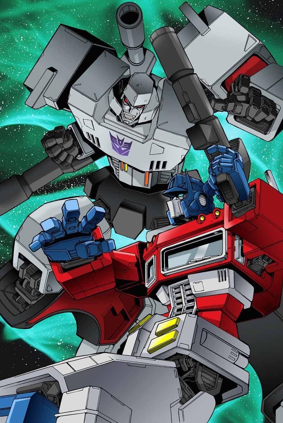 Megatron and optimus transformers transformers - Transformers cartoon optimus prime vs megatron ...