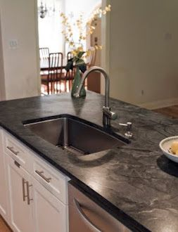 Review Soapstone Versus Granite And Quartz Popular Kitchen Countertops Granite Countertops Kitchen Soapstone Kitchen