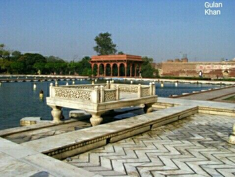 Awesome view of the Shalimar garden Lahore Punjab Pakistan ...