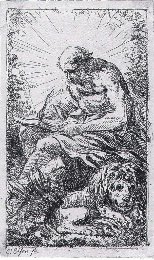 Charles Eisen - Saint Jerome