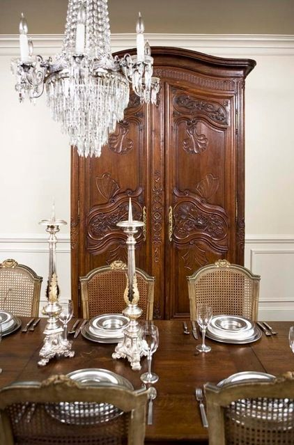 LindaMcDougald Interiors · Antique ArmoireFrench ArmoireAntique Dining ...