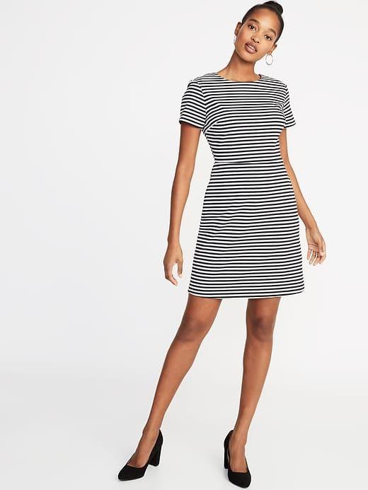 57ece546d79 Ponte-Knit Sheath Dress For Women in 2019 | Products | Sheath dress ...