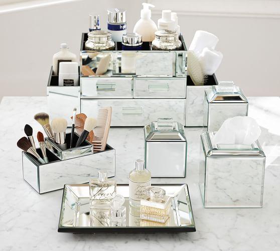 HttpwwwbkgfactorycomcategoryBathroomAccessories Mirrored - Pottery barn mirrors bathroom for bathroom decor ideas