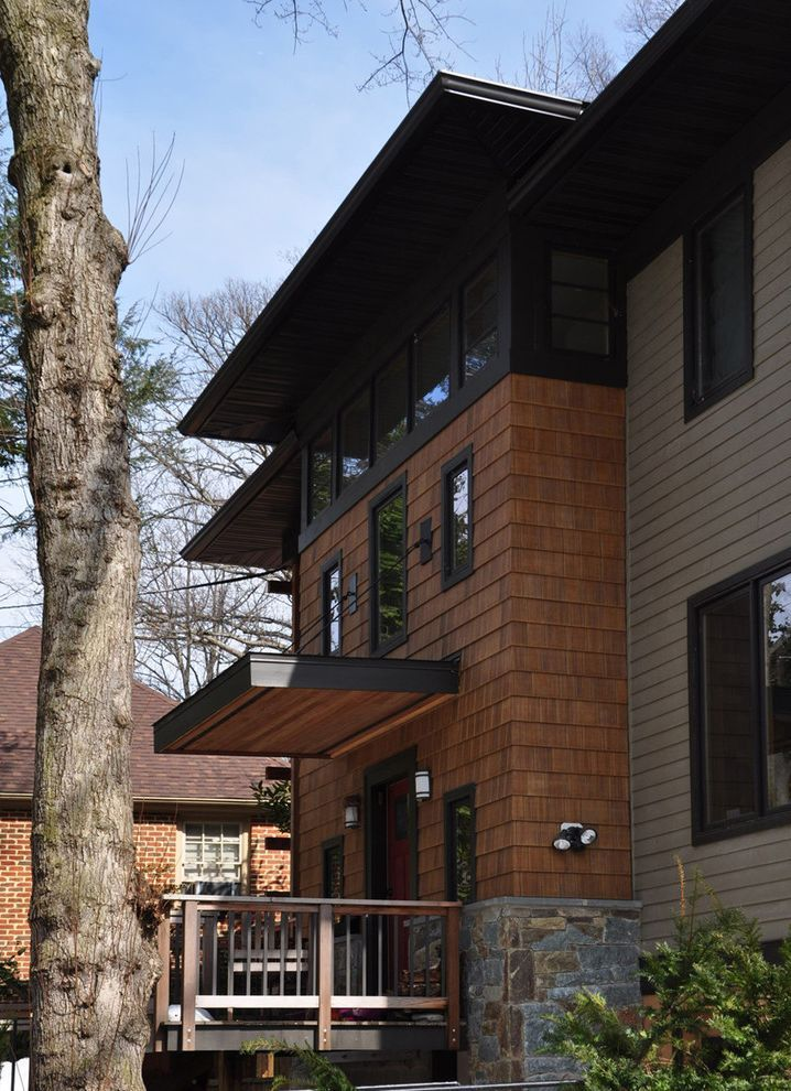 Best Dark Brown Vinyl Siding Contemporary Exterior And Black 400 x 300