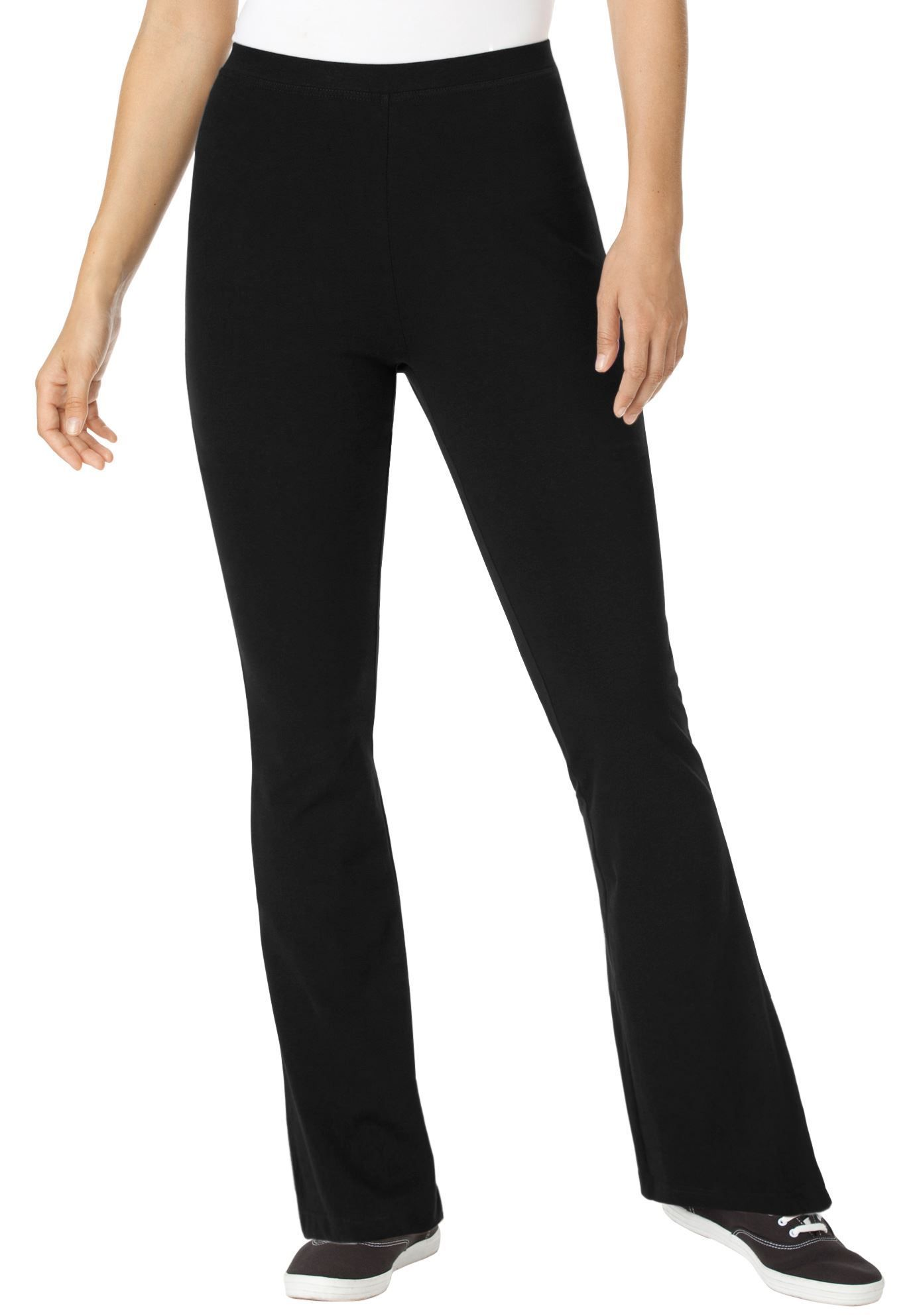 5583c5de210 These plus size yoga knitwear pants are a great
