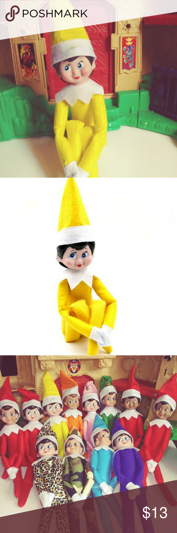 Yellow Girl Elf On The Shelf Christmas is coming! Are you