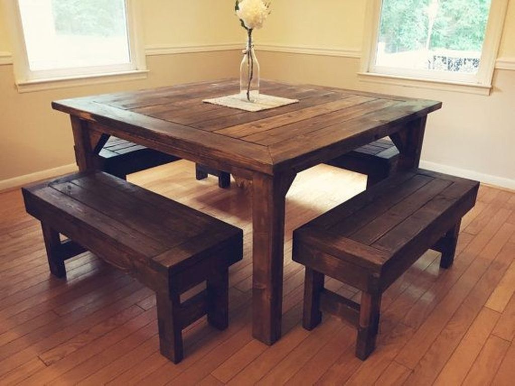 38 beautiful farmhouse tables ideas match for any house