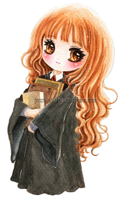 Chibi Hermione By Tho Be Harry Potter Art Harry Potter Artwork
