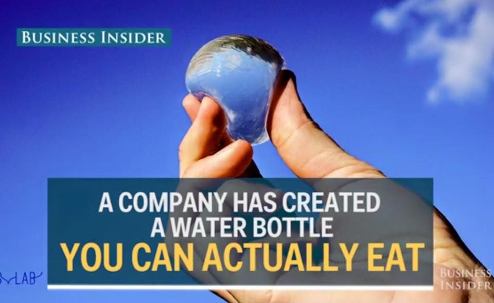 A company has created a replacement for plastic water