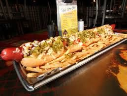Have To Order The Famous Unit Hotdog At Cooperstown Restaurant Before A Diamondback