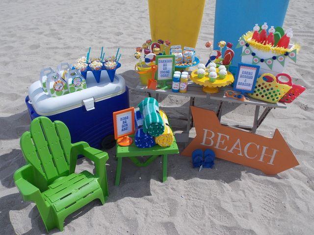 Beach Party Summer Party Ideas Kids Beach Party Beach Birthday