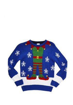 Clothing at Tesco | F&F Elf Christmas Jumper > knitwear > Knitwear ...