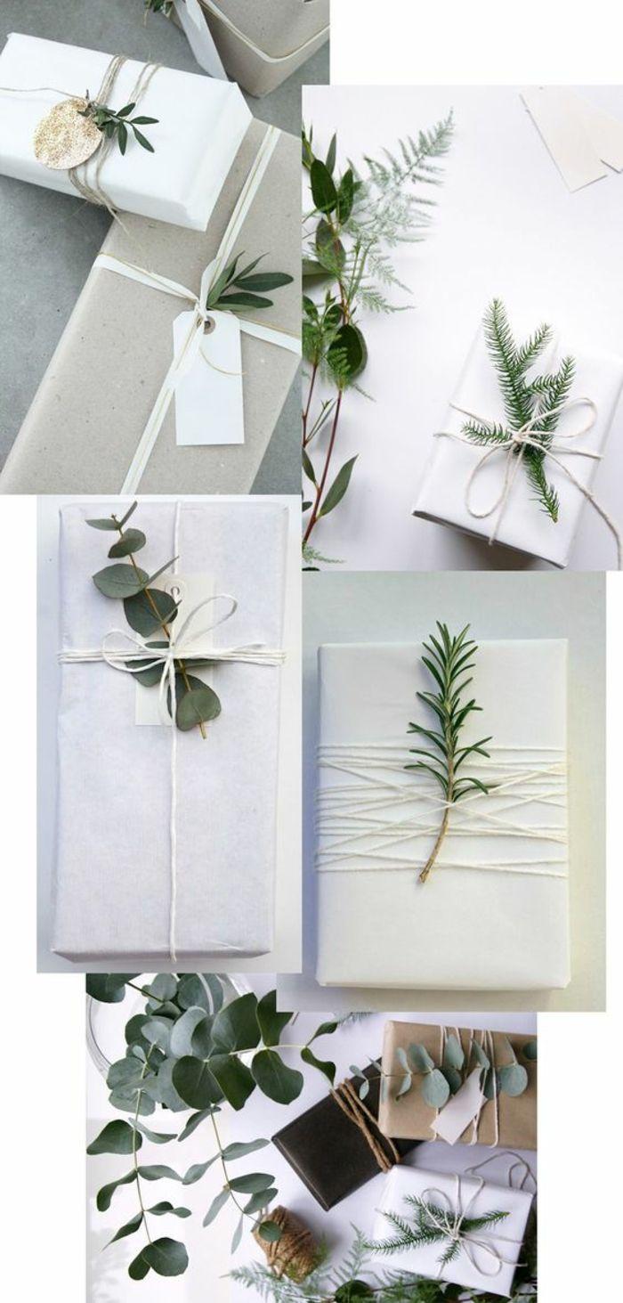 ▷ 80 Ideen wie Sie Geschenke schön verpacken mit Anleitung #julepyntinspiration
