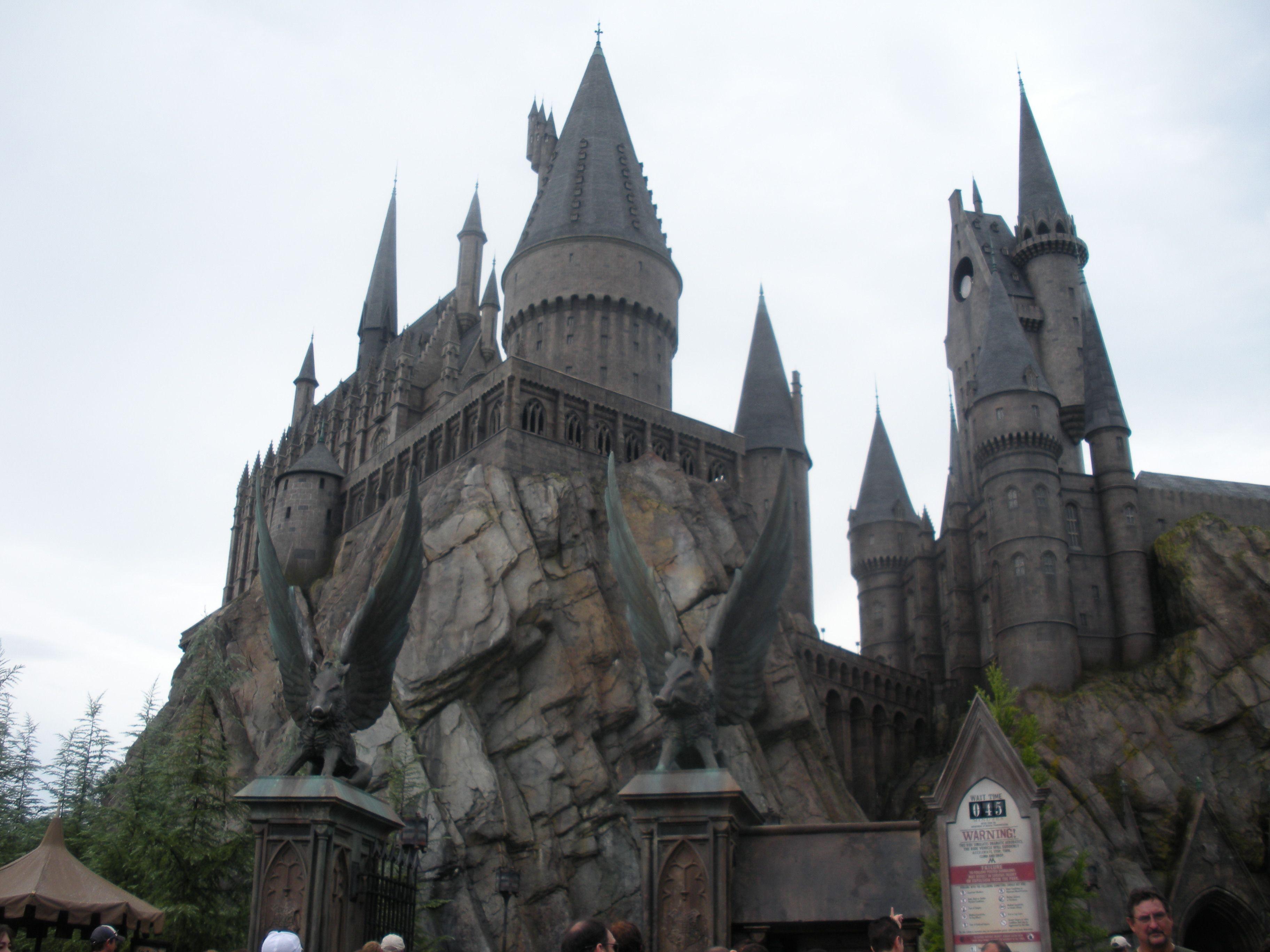Hogwarts Castle Wizarding World Of Harry Potter Universal Studios Harry Potter Healthy Meal Delivery Service Hogwarts Castle