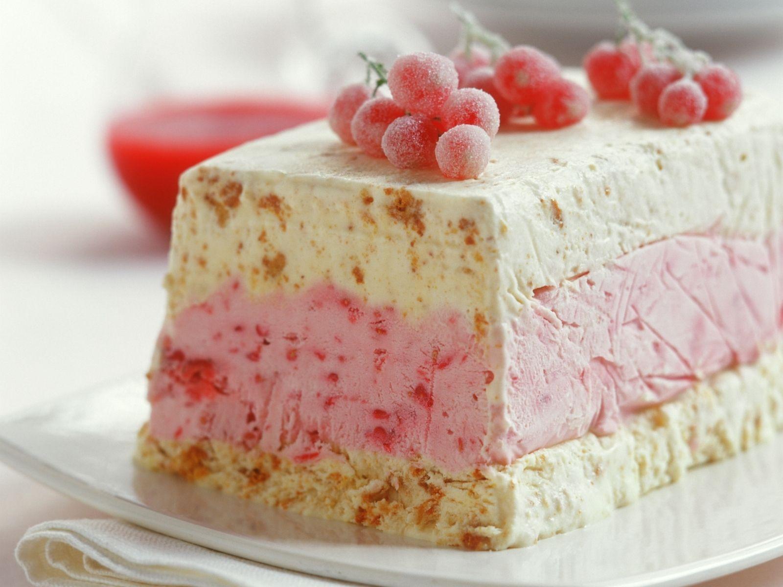 Biskuit Eisparfait Mit Johannisbeeren Rezept Kuchen Rezepte Dessert Rezepte Kuchen Ideen