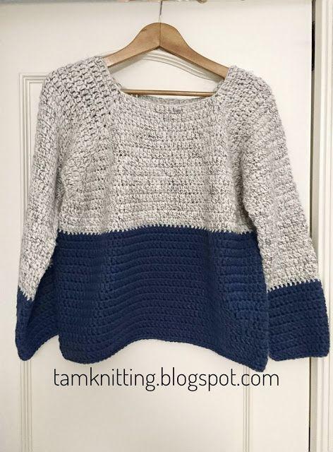 34b1155bebfb Jersey de crochet facilito