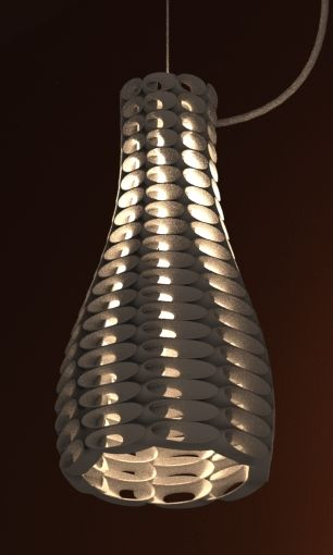 Lamp Shade 3d Print By Studioluminaire Join The 3d Printing Conversation Http Www Fuelyourproductdesign Com Lamp Design Lamp 3d Lamp