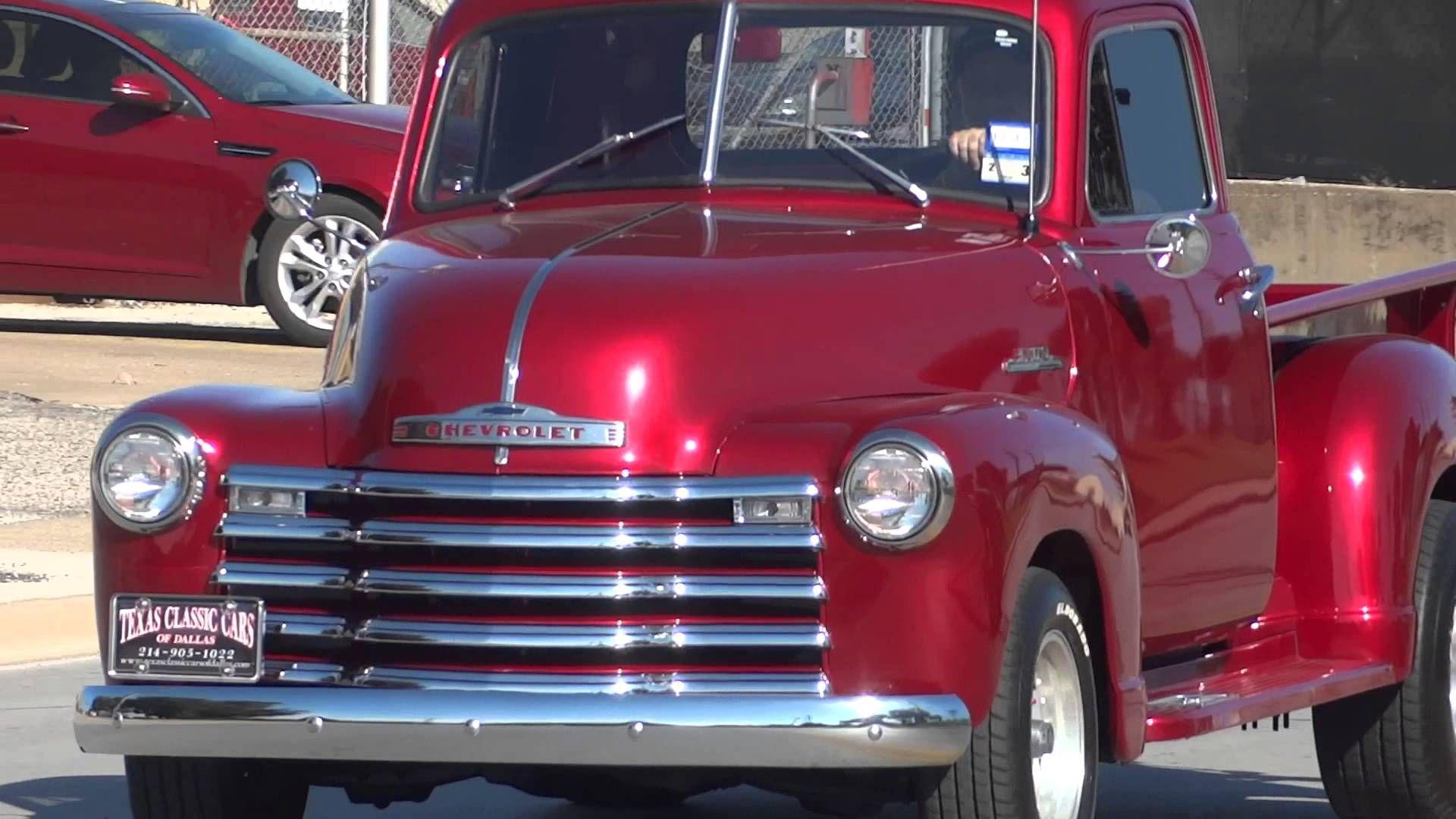 1953 Chevrolet 3100 Series Classic Pickup Truck - YouTube ...