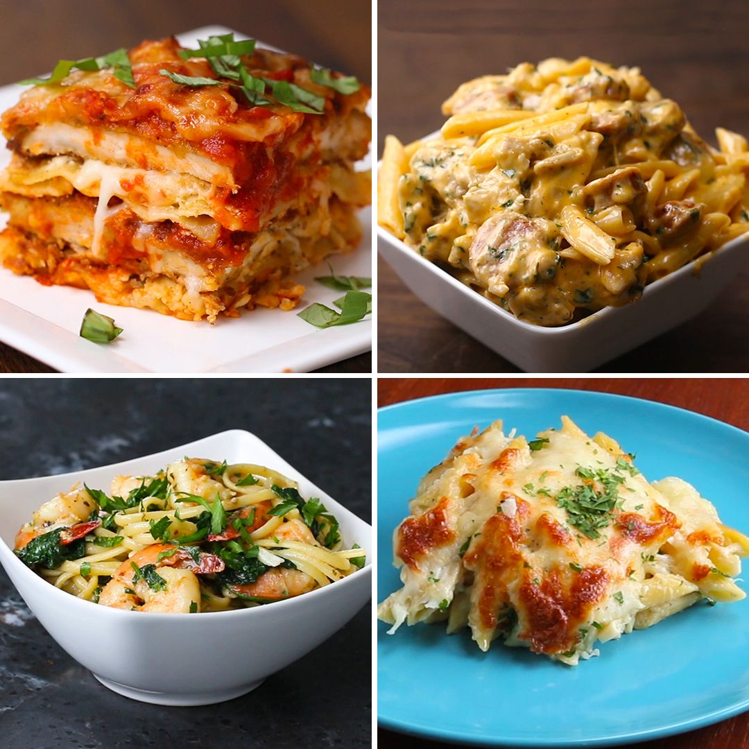 Top 5 Pasta Recipes By Tasty Https Tasty Co Compilation Top 5