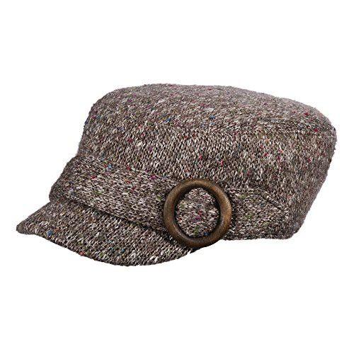 4a4589c5c1a SCALA KNIT CADET HAT (Grey)