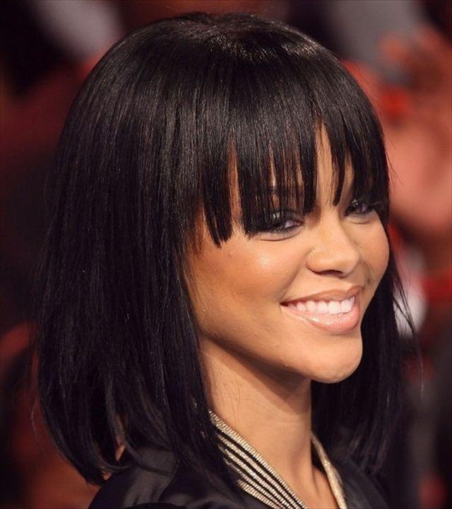 Rihanna Bob Hairstyles 2014
