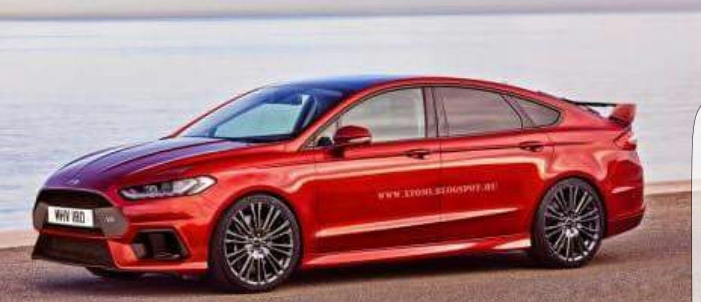 2017 Ford Fusion Rs Concept Ford Mondeo Ford Mondeo Rs Ford Fusion