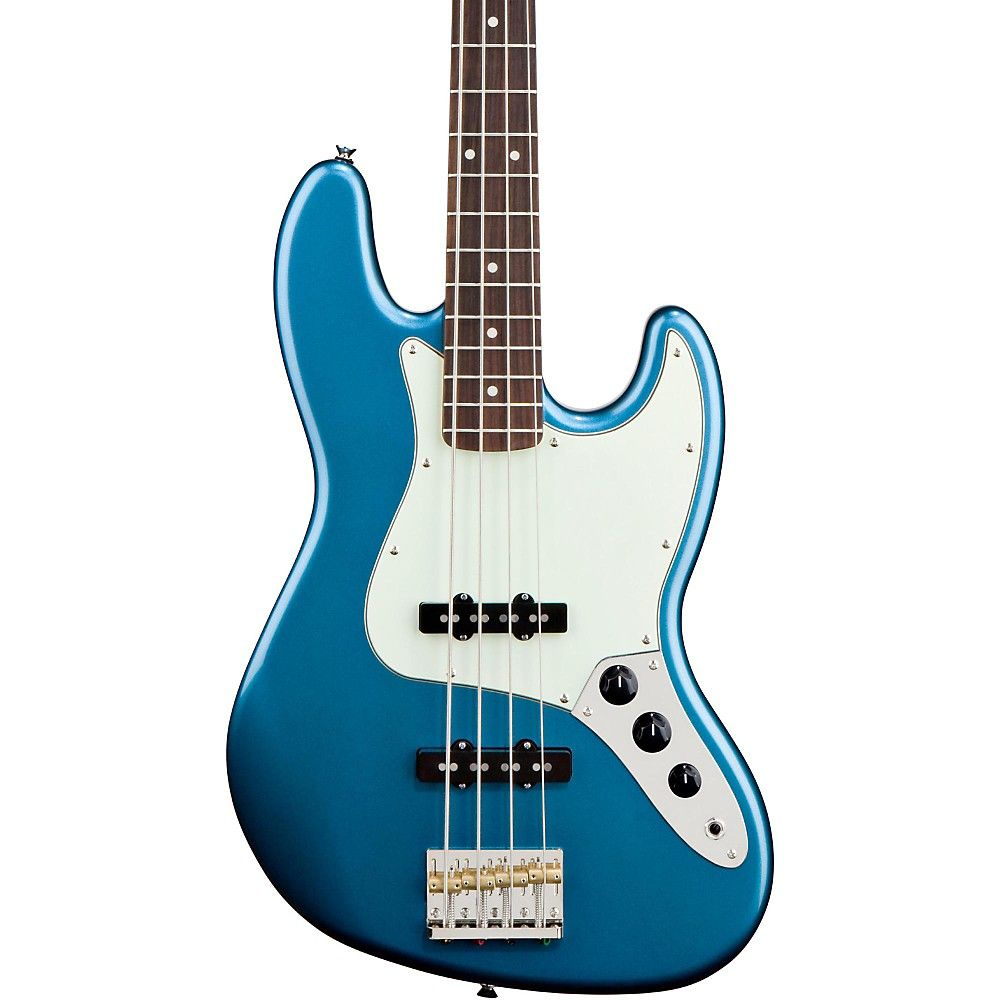 My eb bass squier vintage modified jazz bass - Squier James Johnston Jazz Bass Lake Placid Blue