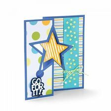 Sizzix Framelits Die Set 16PK - 661565  Star Card Flip-its™ by Stephanie Barnard