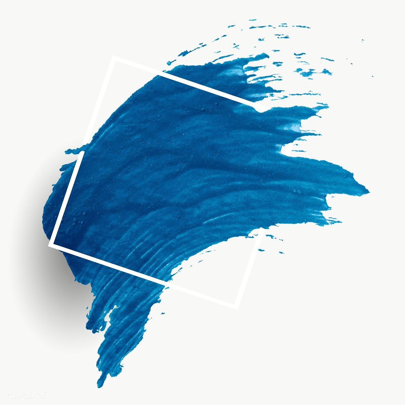 Blue Brush Stroke Banner Transparent Png Free Image By Rawpixel Com Brush Strokes Brush Stroke Png Brush Background