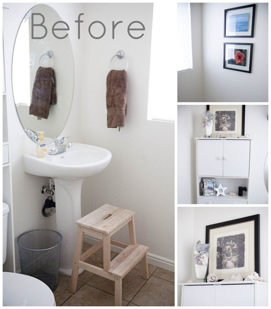 bathroom decorating ideas white walls