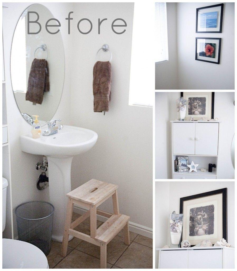 bathroom decorating ideas white walls on bathroom wall decor id=98575