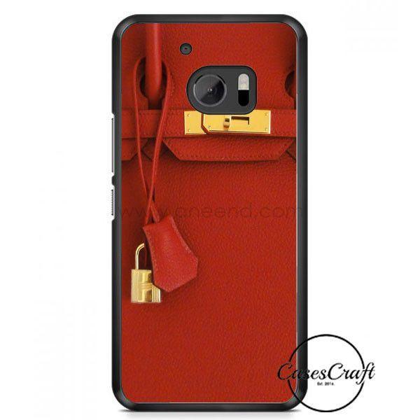 Red Birkin HTC One M10 Case
