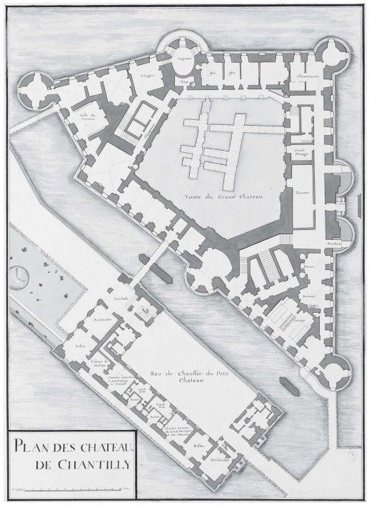 Chateau De Chantilly Architecture How To Plan Floor Plans