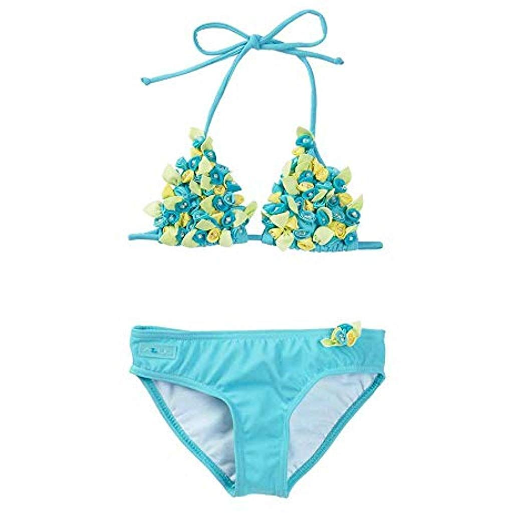 Azul Swimwear Girls Yubba Dubba Doo Triangle Bikini