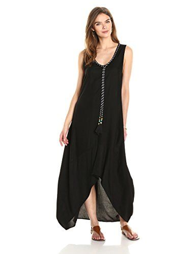 Ella Moon Women s Kaleia Sleeveless Asymmetric Tassel Maxi Dress at Amazon  Women s Clothing store  Price   89.50 Free Shipping for Prime Members   FREE  ... 55e814d55dea