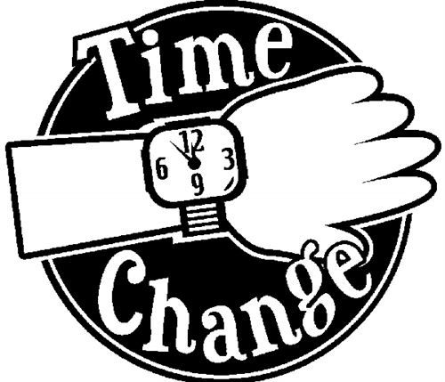 time change on daylight savings white and black clip art i love rh pinterest com daylight savings time ends free clip art daylight saving time ends clipart