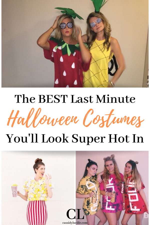 Cutest Last Minute Halloween Costumes Easy college