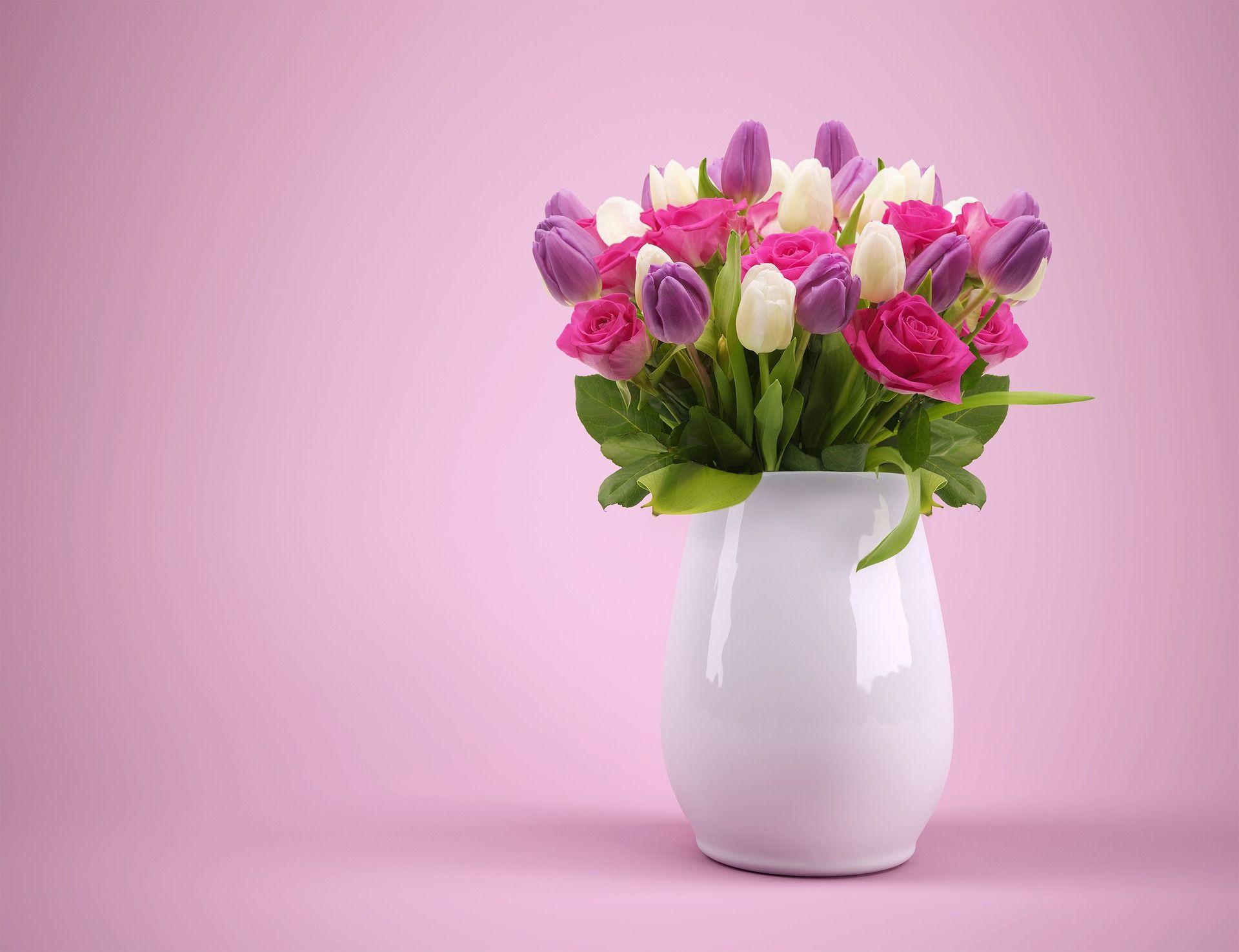 Diy Como Fazer Jarro De Flores Com Garrafa Tulipas Roxas Flores